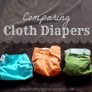 Comparing Cloth Diapers