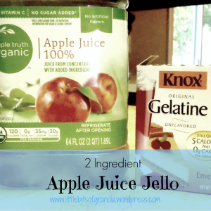 LBoG Apple Juice Jello