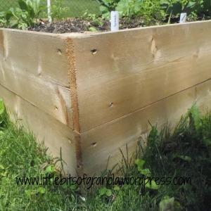 LBoG Raised Garden Board Detail