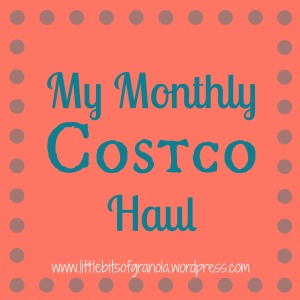 Monthly Costco Haul - July 2014