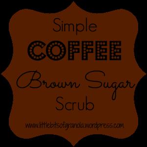 Simple Coffee Brown Sugar Scrub