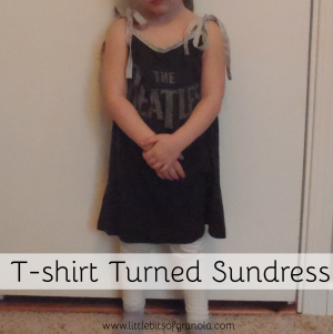 T-shirt Turned Sundress rev