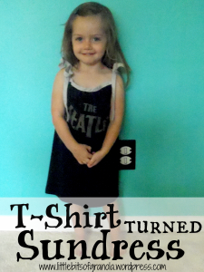 T-shirt Turned Sundress