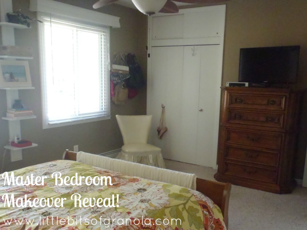 Master Bedroom Makeover Reveal 2 - by Little Bits of Granola