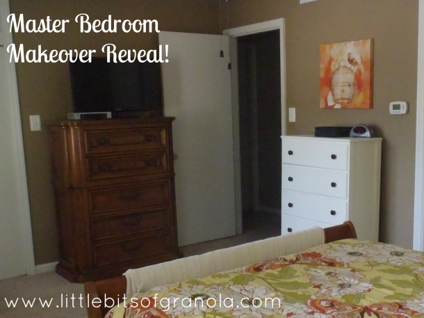 Master Bedroom Makeover Reveal 3 - by Little Bits of Granola