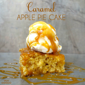 Caramel Apple Pie Cake