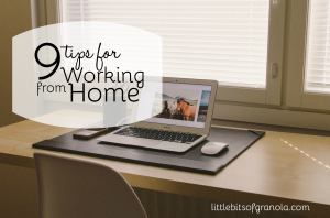 9 Tips for Work at Home Moms