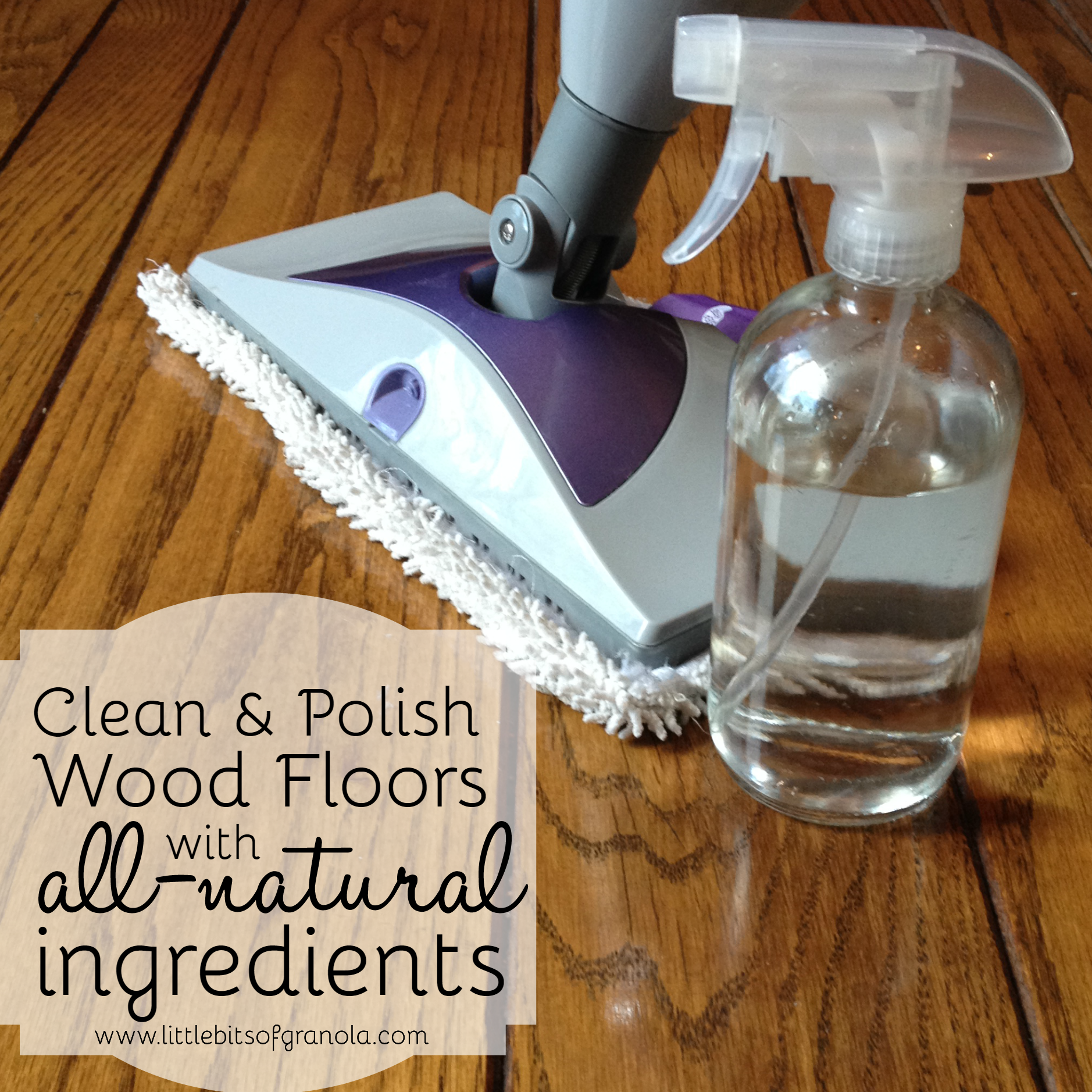 Natural homemade wood floor cleaner crazy homemade for How to clean polished floors