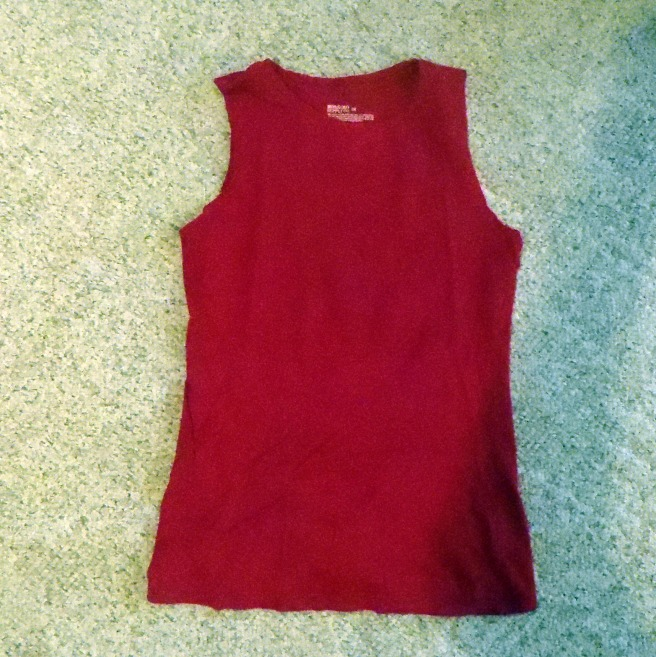 T-shirt Turned Tank Top